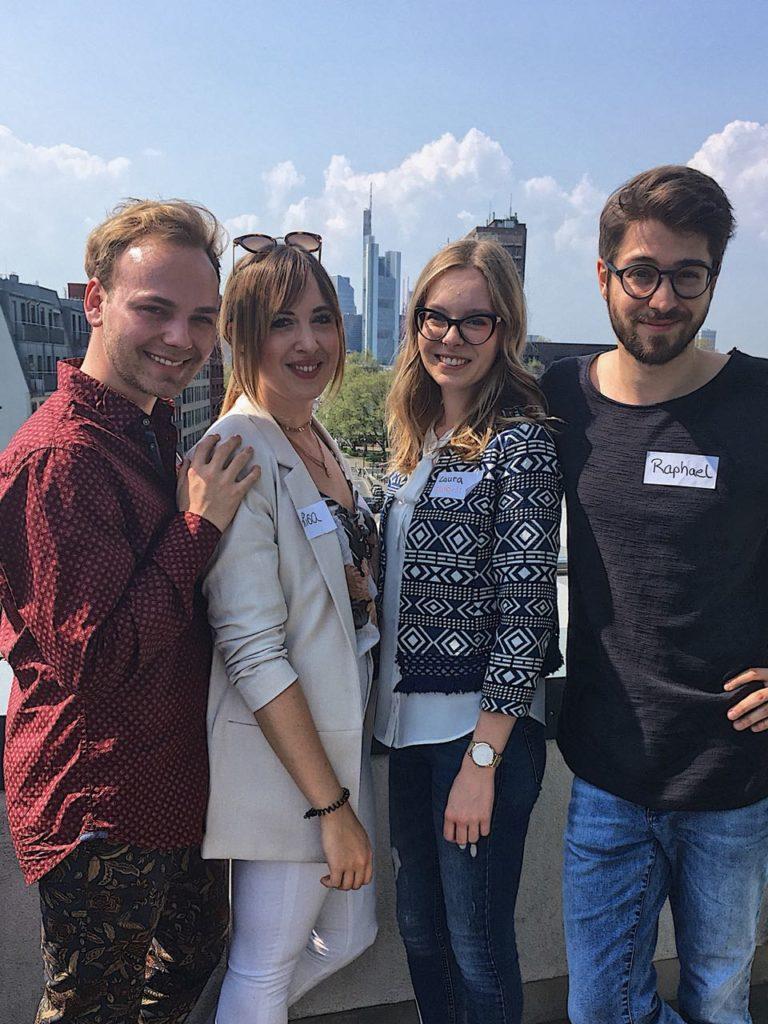 Die PRIHO-Botschafter zu Gast in Frankfurt bei Klenk & Hoursch